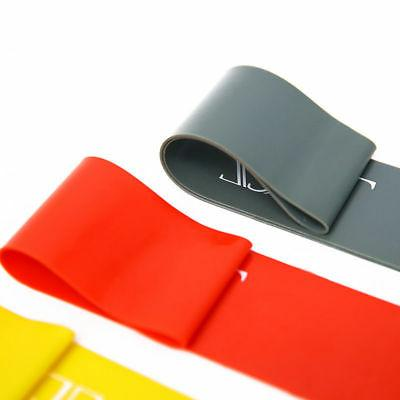 Resistance Bands Loop Set of 4 Exercise CrossFit Fitness Band