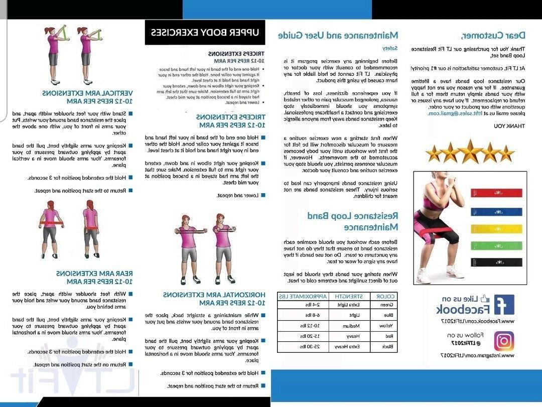ResistanceBands of Exercise Workout Yoga Band