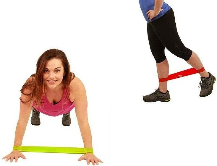 Resistance Bands 5 Exercise CrossFit Yoga