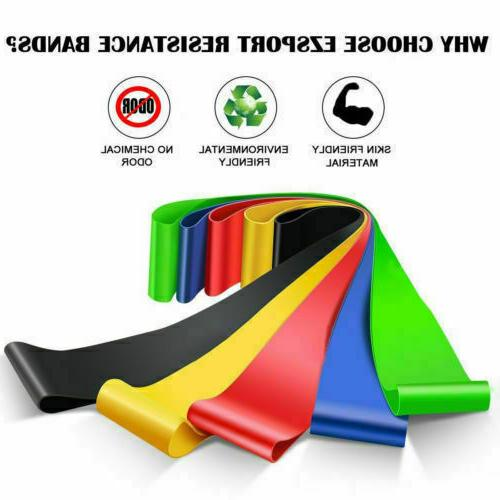 Resistance Bands of 5 Workout CrossFit Band