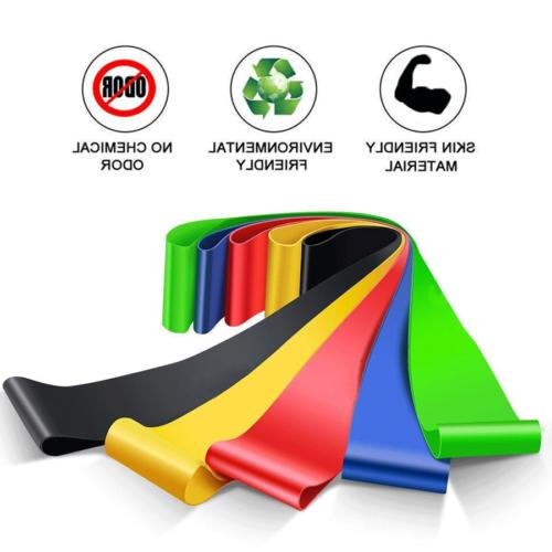 Resistance Bands of Gym Fitness Physio