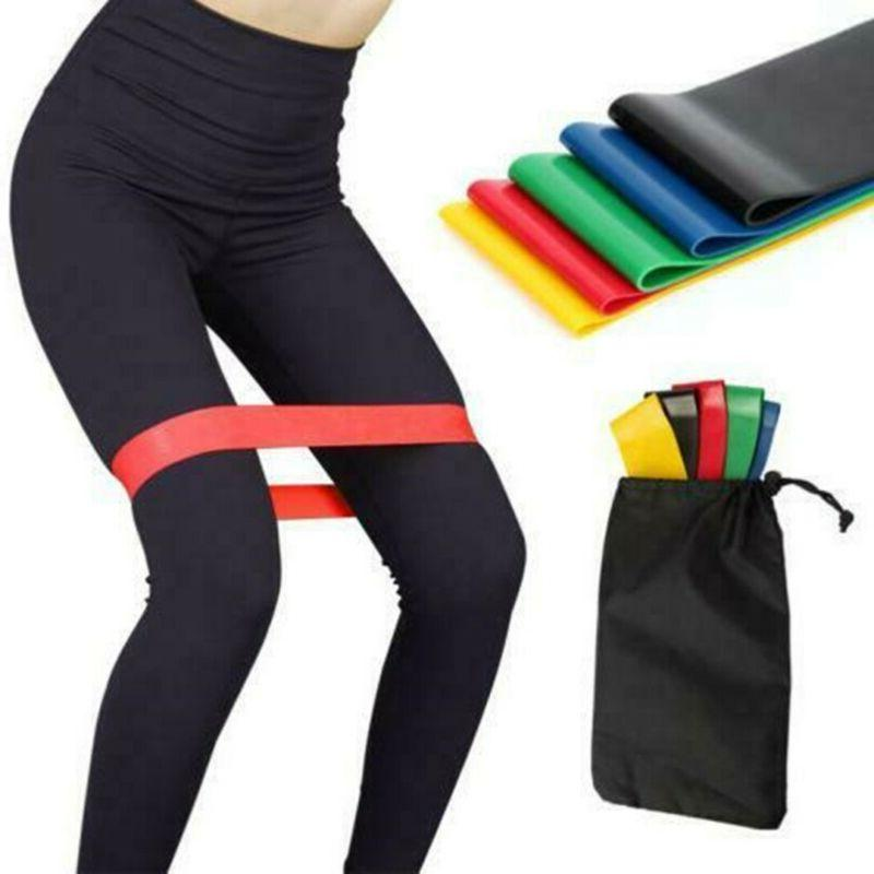 Resistance Loop Workout Crossfit Yoga Booty Leg