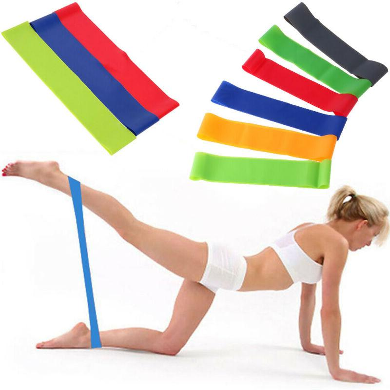 Resistance Bands Exercise Gym Fitness Sport Rubber