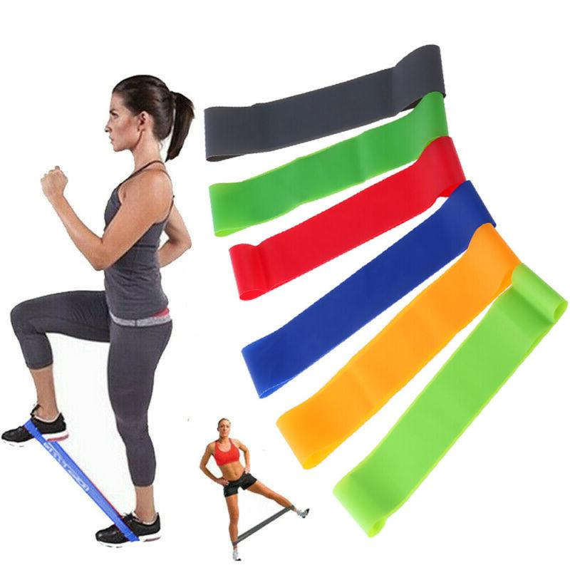 Resistance Pilates Gym Fitness Stretch Sport Band