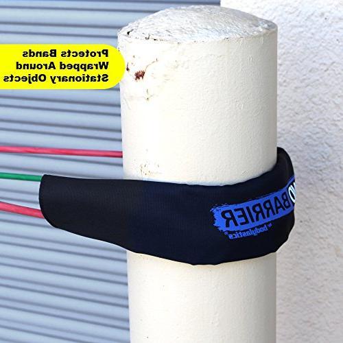 Bodylastics Sleeve. with Nylon Neoprene Padding, Reinforced Velcro