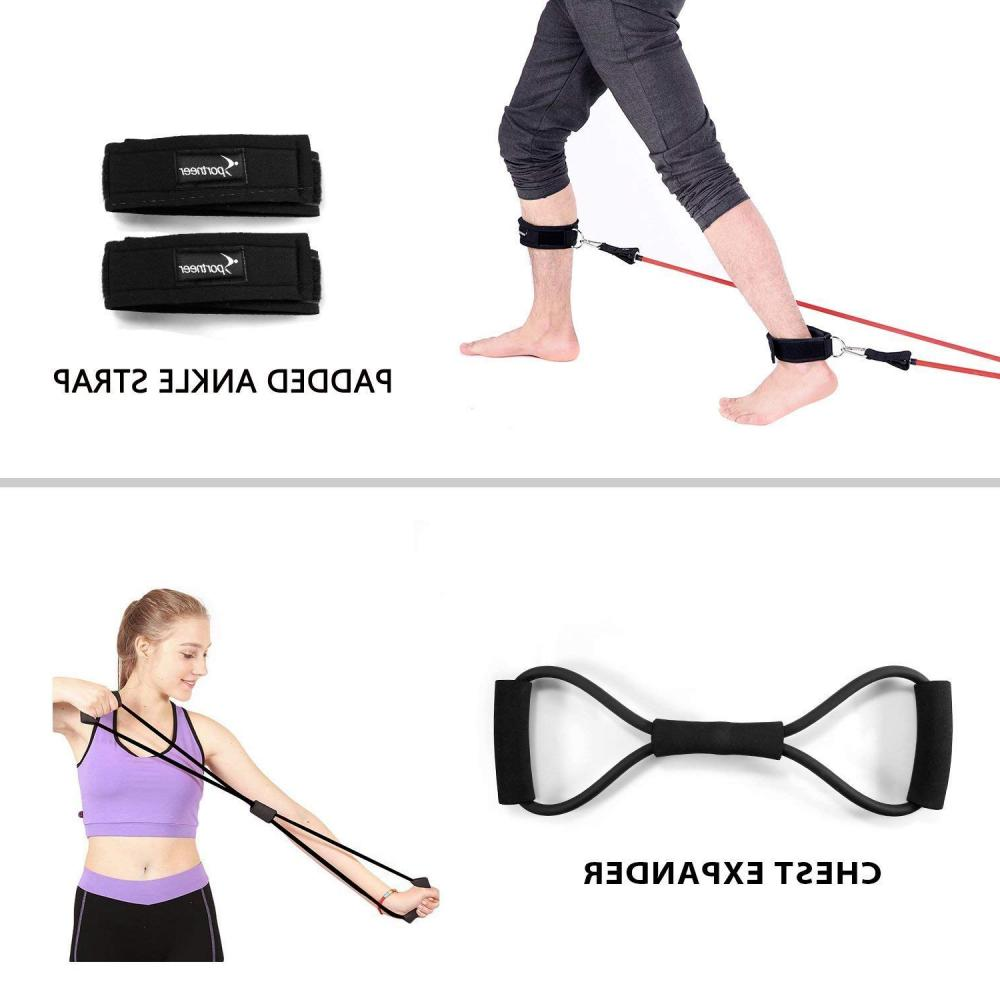 Resistance Bands, Sportneer Exercise Band Home Gym Workout