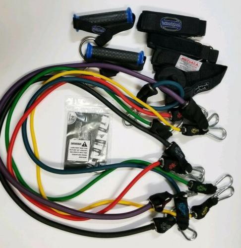 resistance bands set 12 pcs patented anti