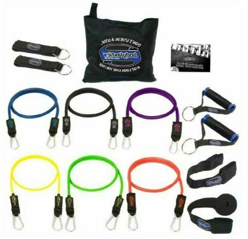 resistance bands set 14 pcs patented anti