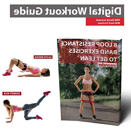 Resistance Set Bands Bands Stretch Bands Loop Kit for Legs Glutes Yoga Physical Therapy Home Training for Women