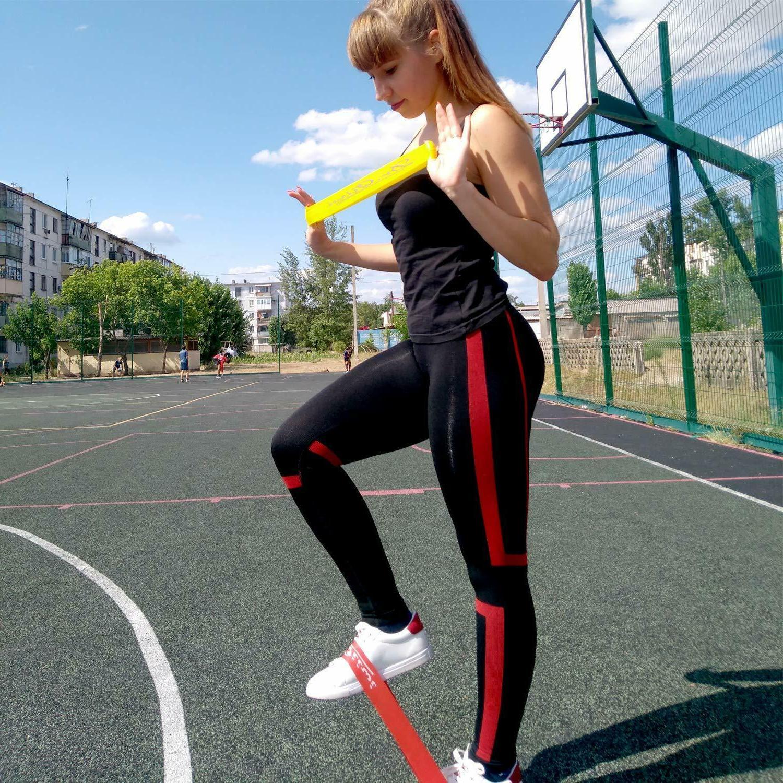 Resistance Set Elastic Loop Band Yoga Workout