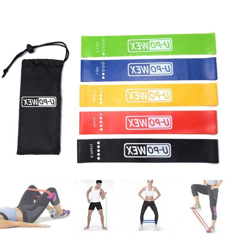 U-POWEX Resistance Exercise Bands Booty Workout Loops For Le