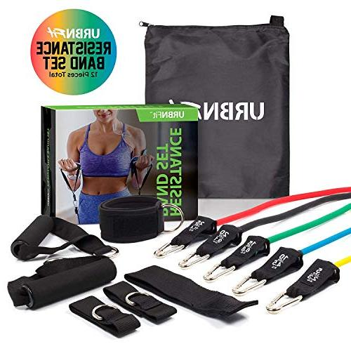 URBNFit Includes Door Anchor, Ankle & Wrist Strap, Guide Carrying for