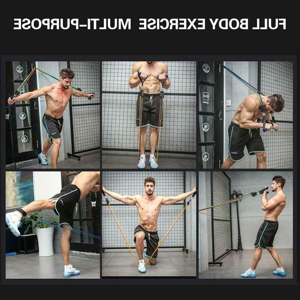 Resistance Set Rope Gym Workout Yoga 11 PC