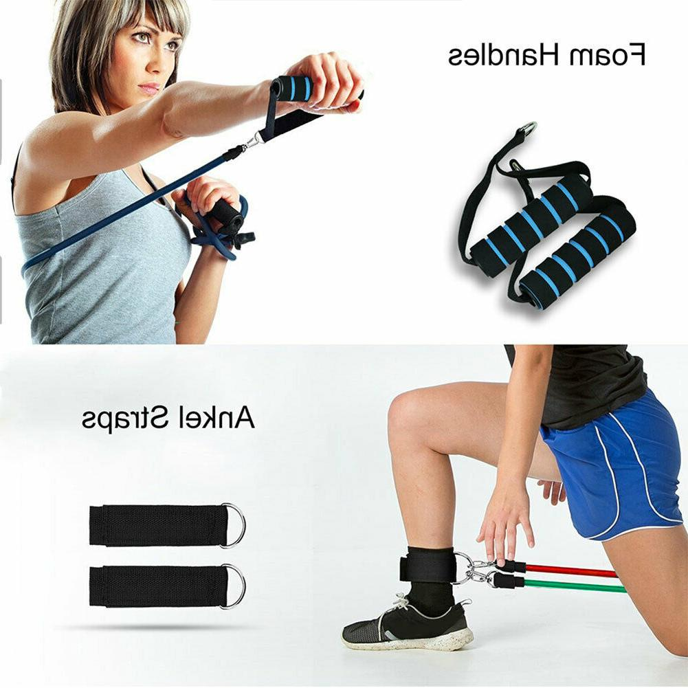 Resistance Bands Set Pull Rope Workout 11 PC