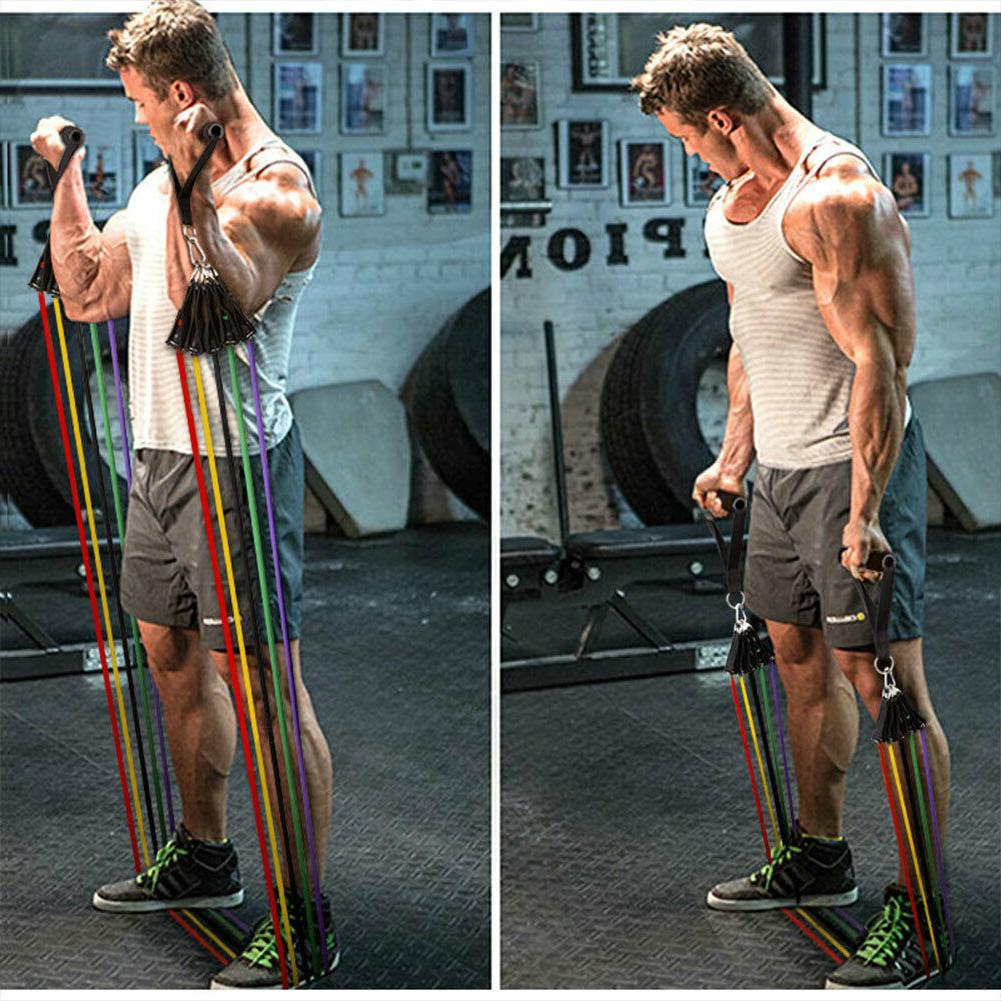 resistance bands set pull rope gym home