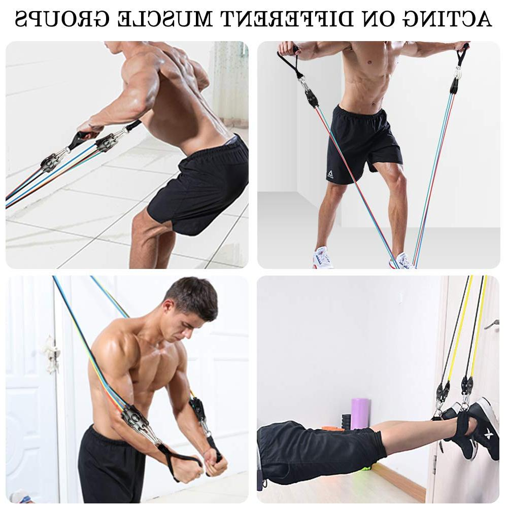 Lonrun Resistance with Handles, Ankle St