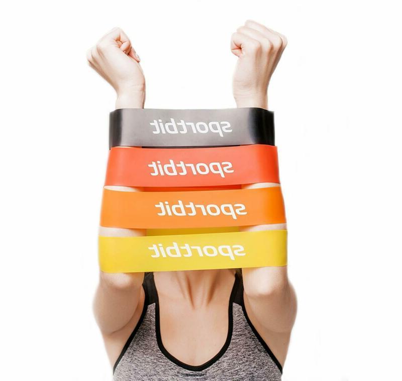 pilates flexbands set workout flexbands with bag