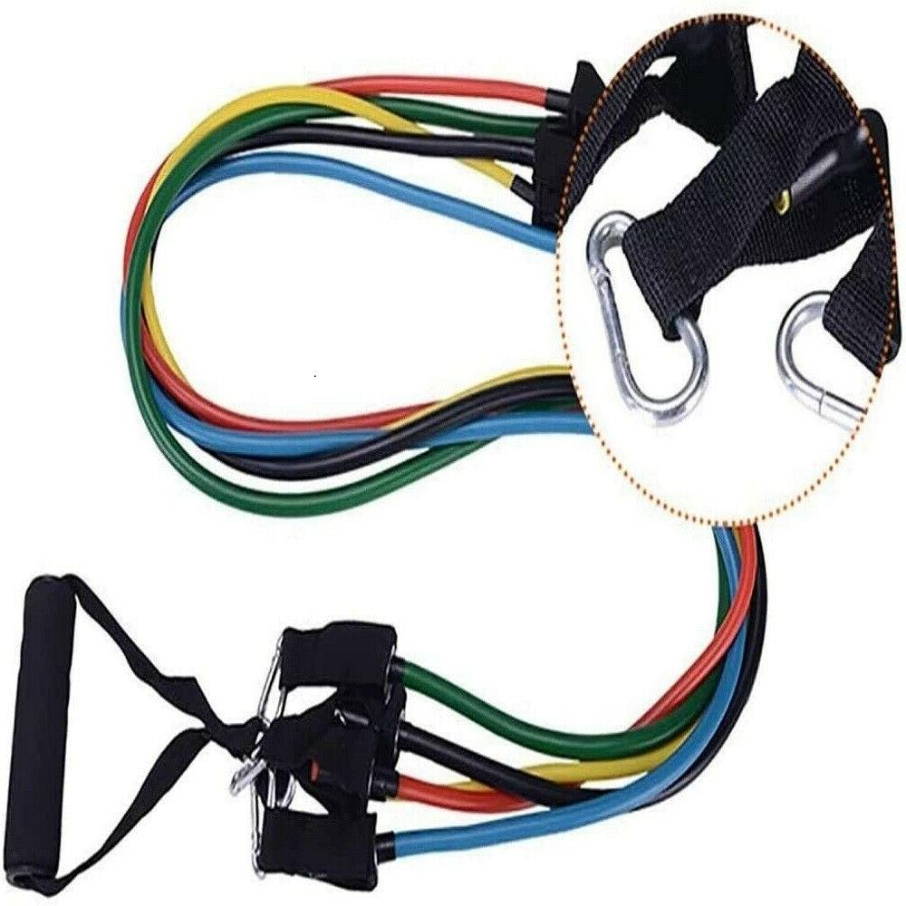 Resistance Bands - with Door Anchor, Straps