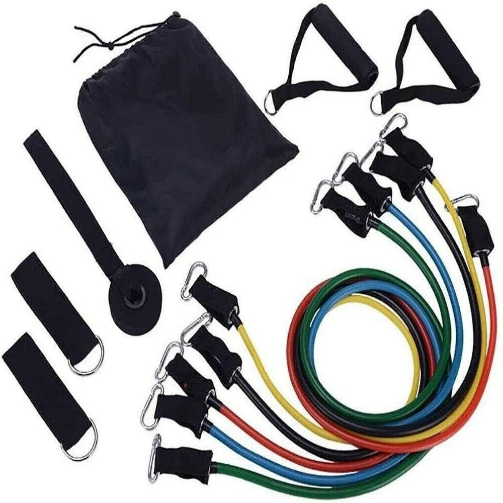 resistance bands set workout bands with door