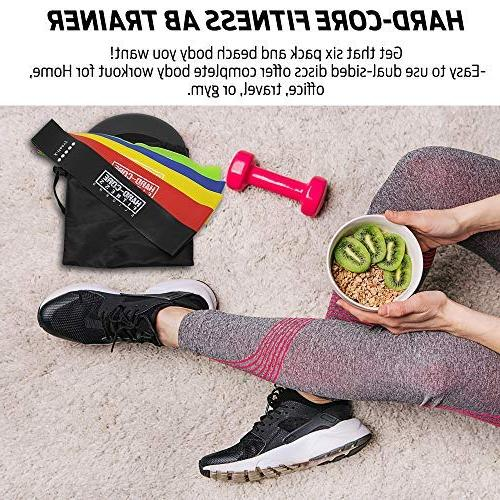 Resistance and for Fitness. for Full Body Workout. Strengthen, Tone, Muscle with Hard- Sliders Resistance