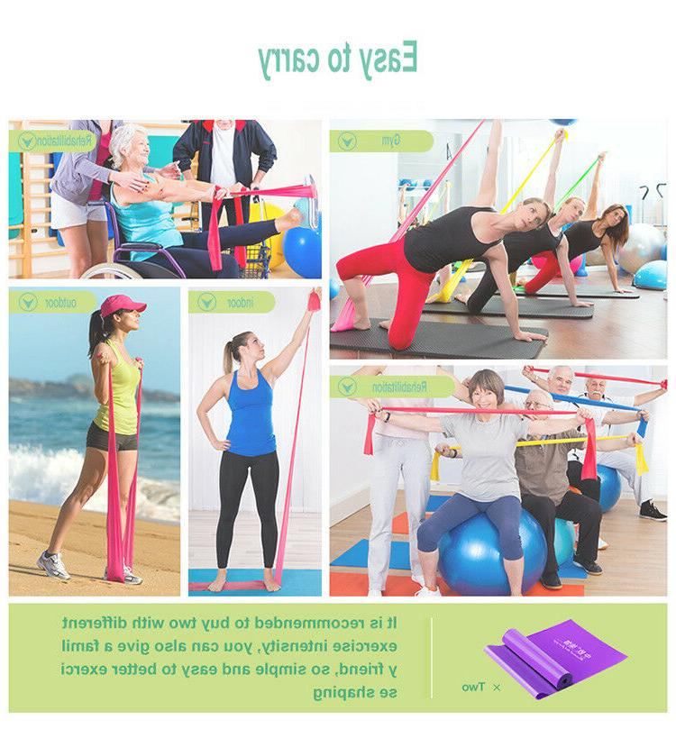 Resistance Bands Elastic Fitness