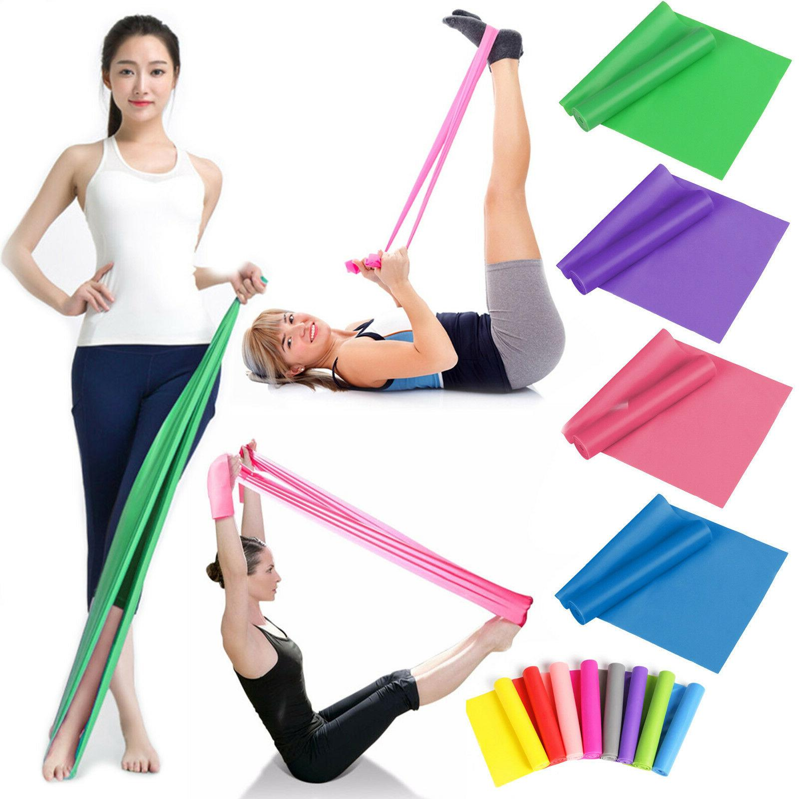 resistance bands stretch elastic fitness rubber equipment