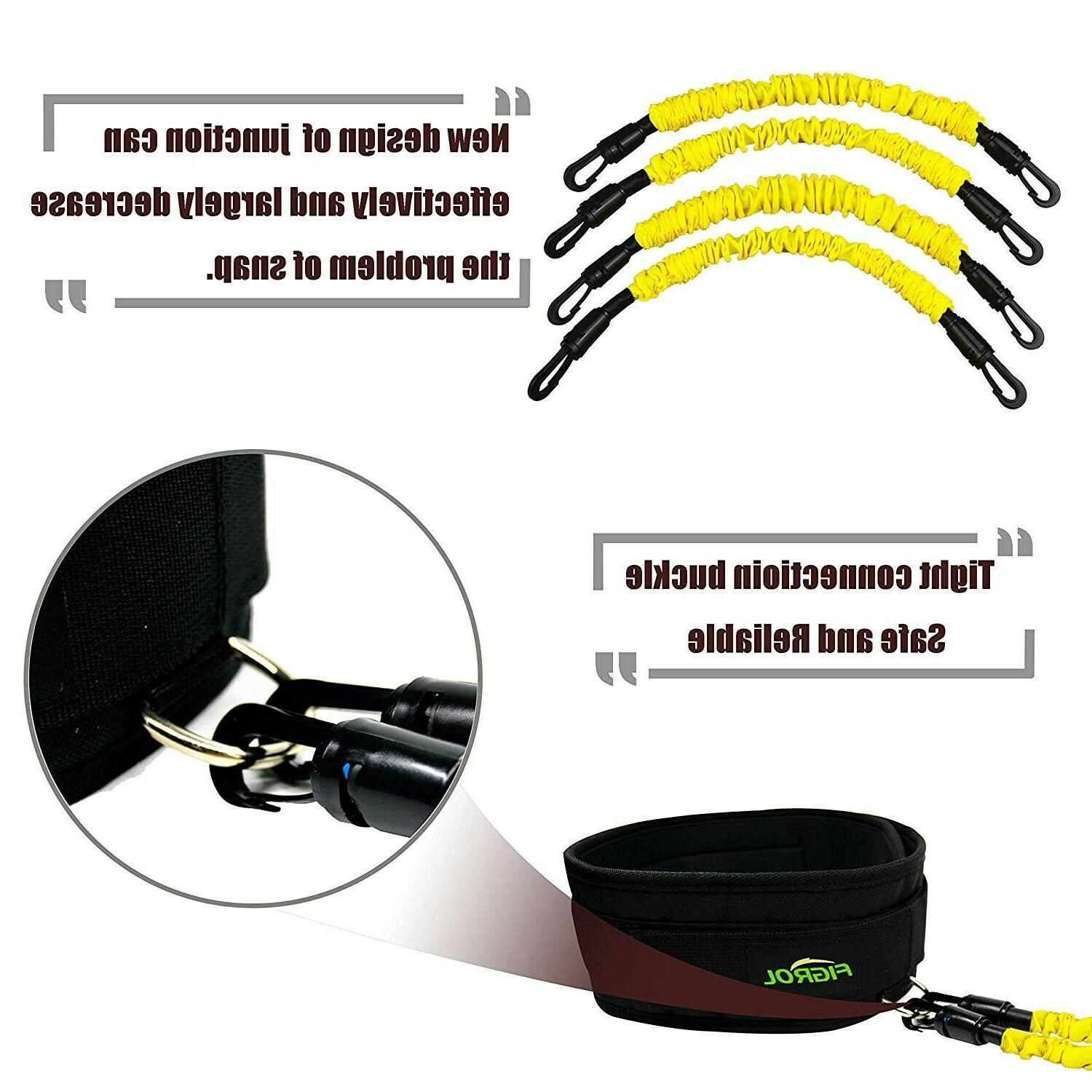 Exersize Resistance Bands Strength Ankle for