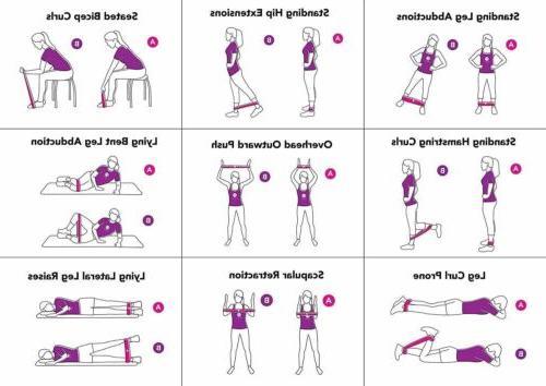 Resistance Exercise Elastic Band Equipment Yoga