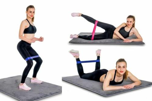 Resistance Tube Exercise Fitness Equipment Yoga US