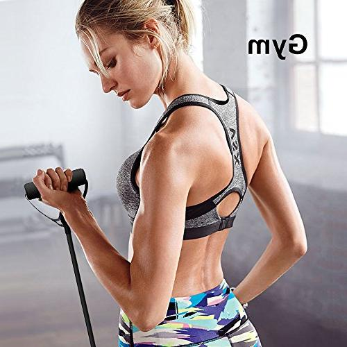Liveup Resistance Resistance Tubes with Foam Handles, Cords Exercise Training
