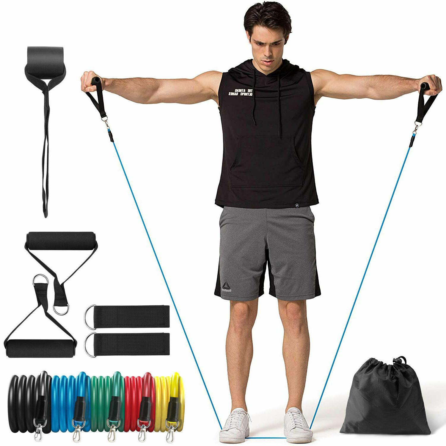2020 - Resistance Bands Ankle At Home Workout