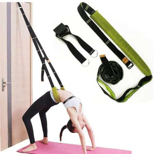 resistance bands yoga belt door split legs