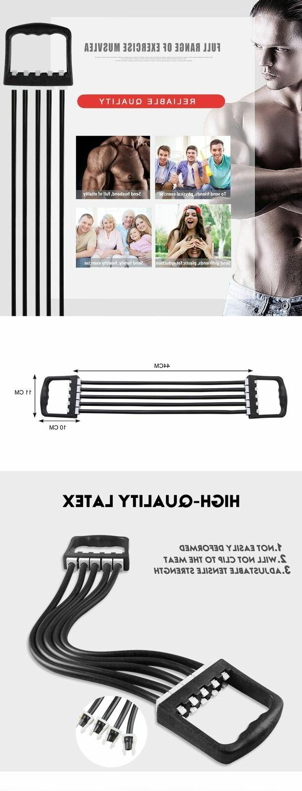 Resistance Band Sports Home Workout Fitness Supply Expander