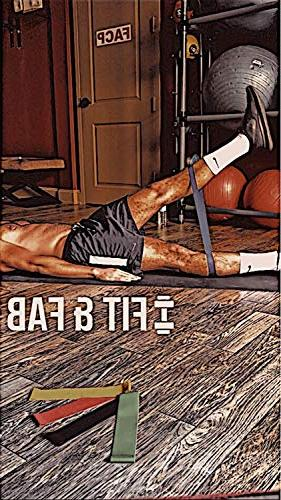 Resistance Exercise Set 5 Indoor Workouts. Anti-Snap Tech. Includes Bag Bonus Workout Tutorials, Fab
