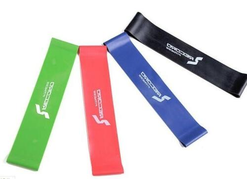 Resistance Exercise Loop Band Yoga Rubber Training Strength