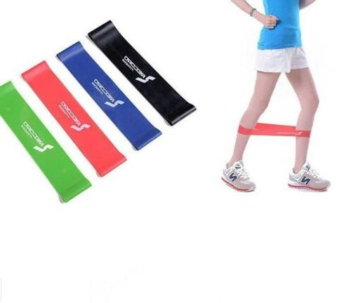resistance exercise loop band yoga bands rubber