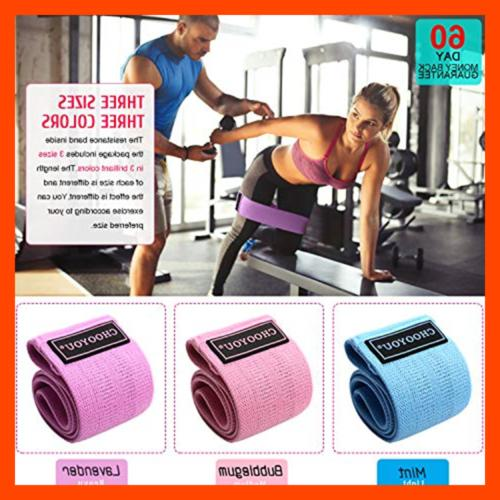Resistance Fabric Band For Butt Yoga Hip Bo