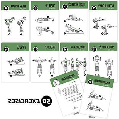Resistance Planners Tube Exercise Cards - Extra Home