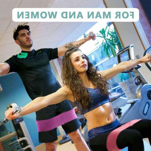 Wide Resistance Loop Fitness Yoga Leg