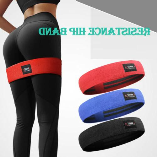 resistance hip circle bands fitness exercise glute