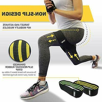 Resistance Hip Exercise 2-Pack WOD Leg For Work Out Physical Inner