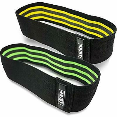 resistance hip exercise bands 2 pack wod