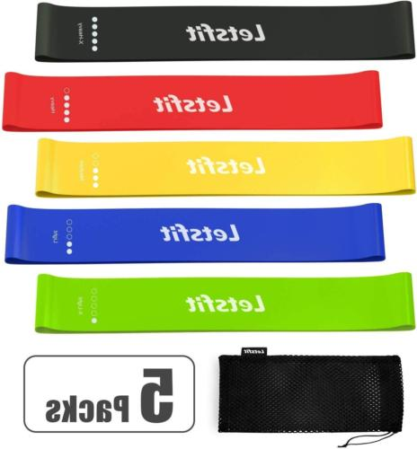 resistance loop bands exercise band fitness pilates
