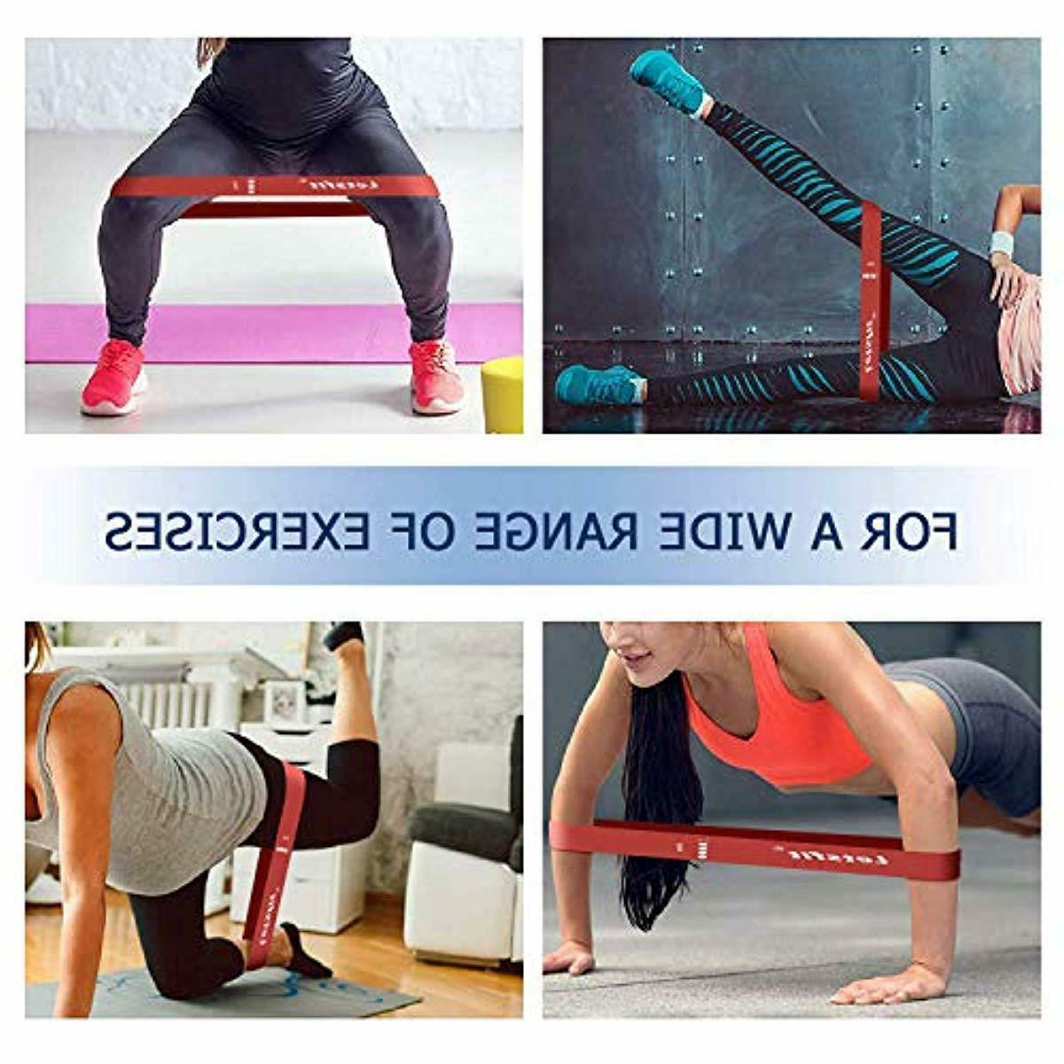 Resistance Bands Exercise Workout Pilates Training Flexbands