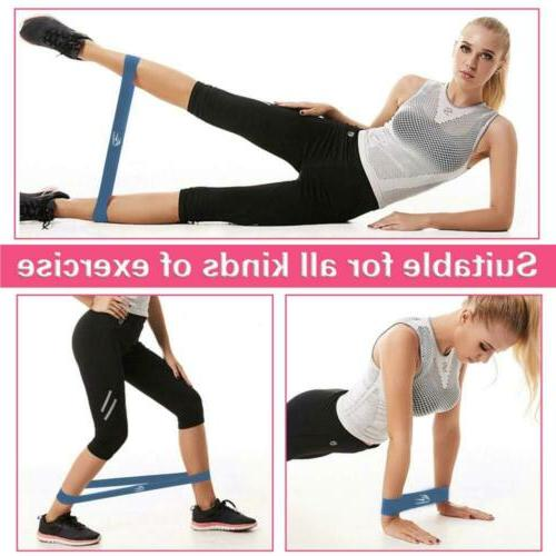 HOMOFY Resistance Loop Flexbands Set Fitness Stretch Yoga