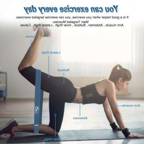 HOMOFY Flexbands Set Exercise Stretch Yoga