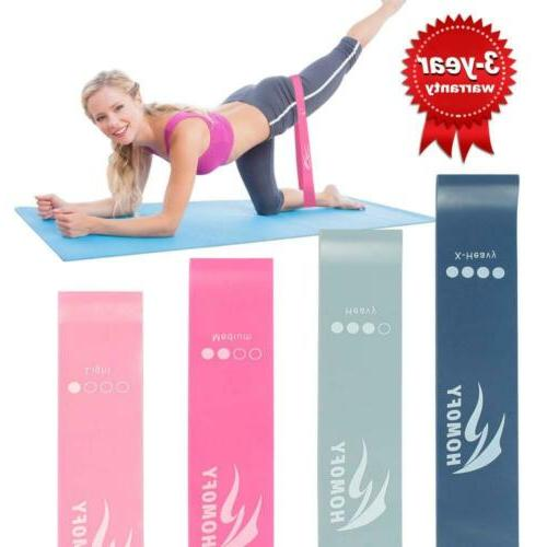 resistance loop bands flexbands set exercise fitness