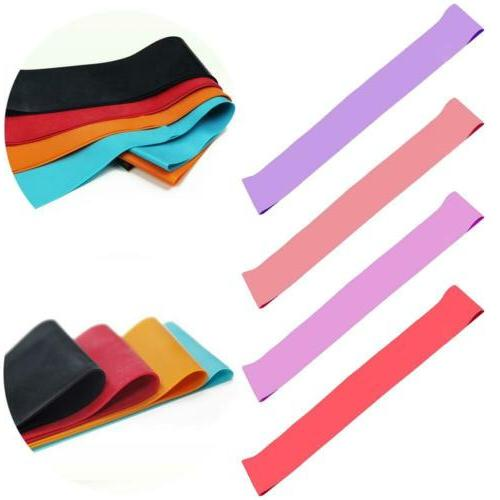 resistance loop bands latex exercise and fitness