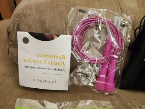 Resistance Loop set pink in stock