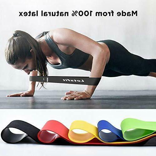 """Resistance Natural Latex Workout Flexbands, x 2"""""""